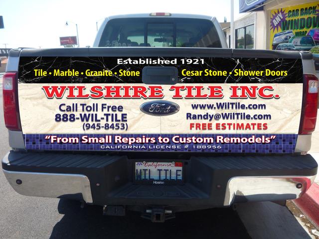 wilshire tile tailgate
